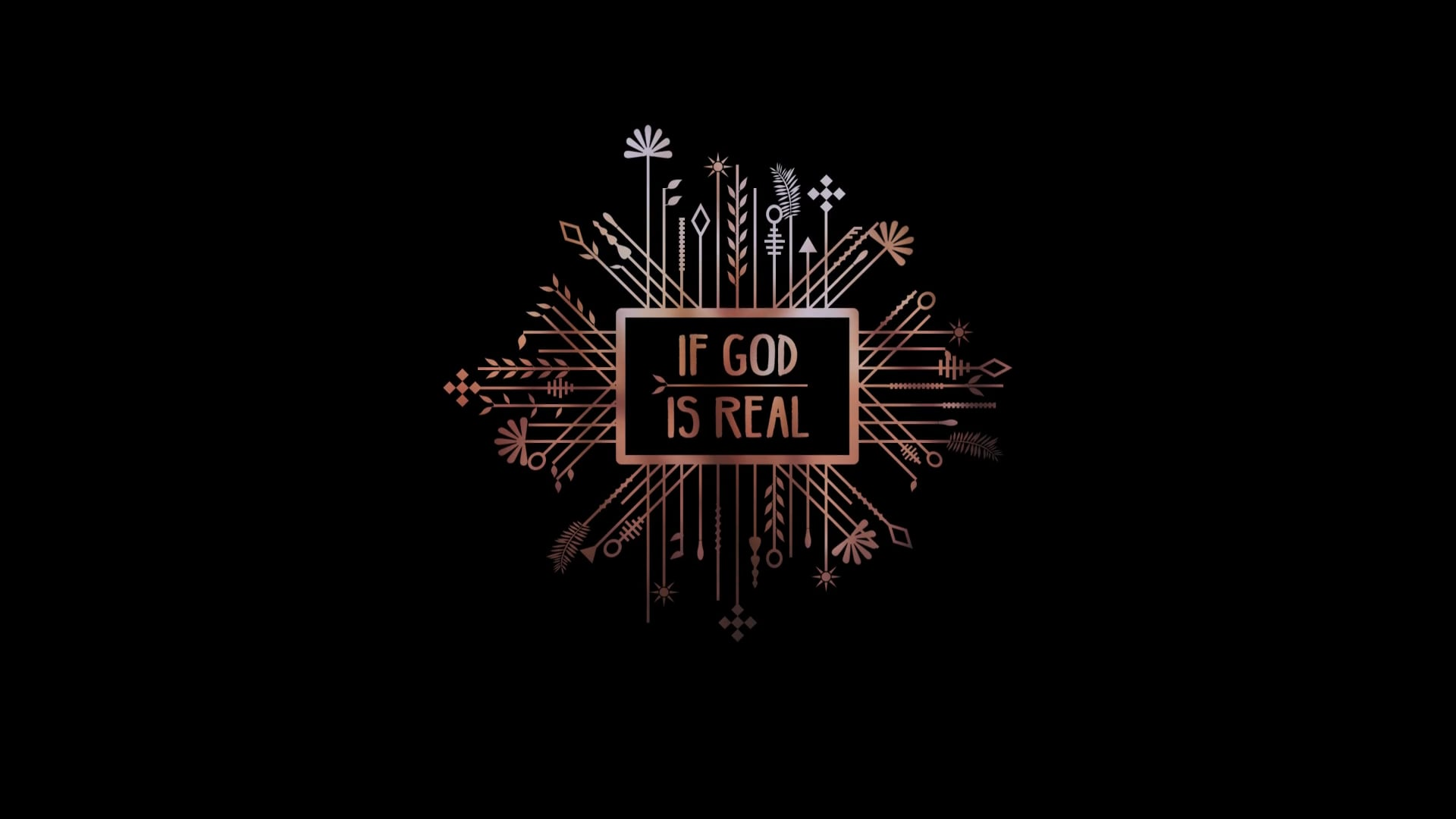 If God Is Real - Promo