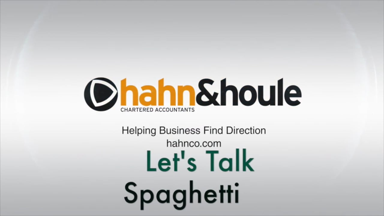 Let's Talk Spaghetti