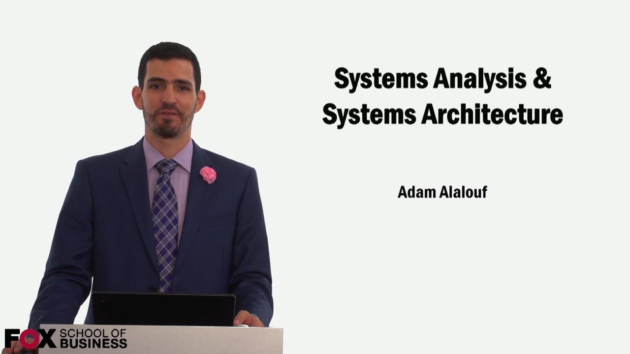 59110System Analysis & Systems Architecture