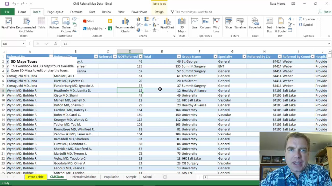 Excel Video 519 Time and View Options in 3D Maps
