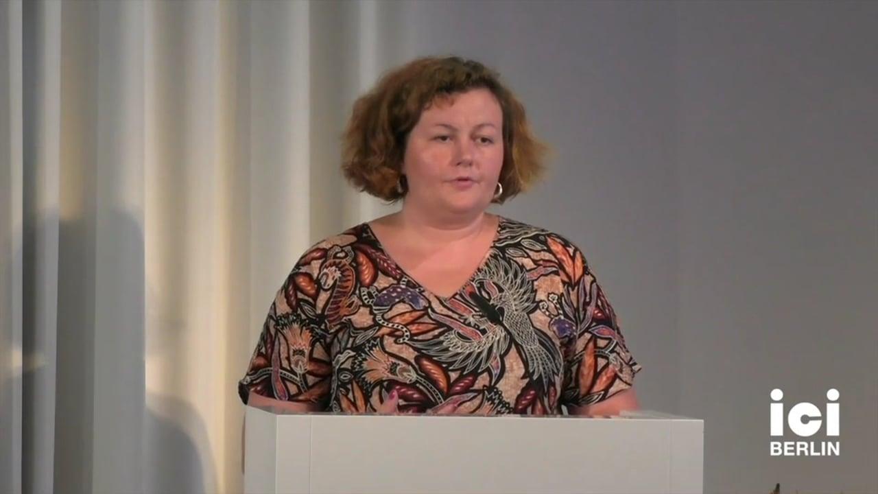 Talk by Ewa Majewska