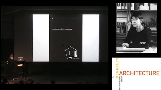 Tom dePaor, Yvonne Farrell & Sheila O'Donnel Panel/Presentations - 9-9-11 ARCH Lecture Architecture Lecture