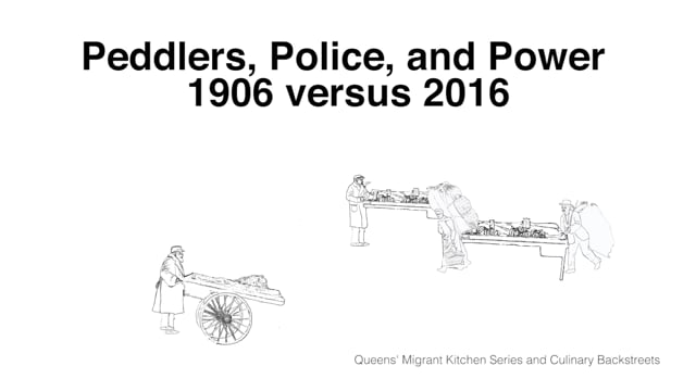 Peddlers, Police, and Power: 1906 versus 2016