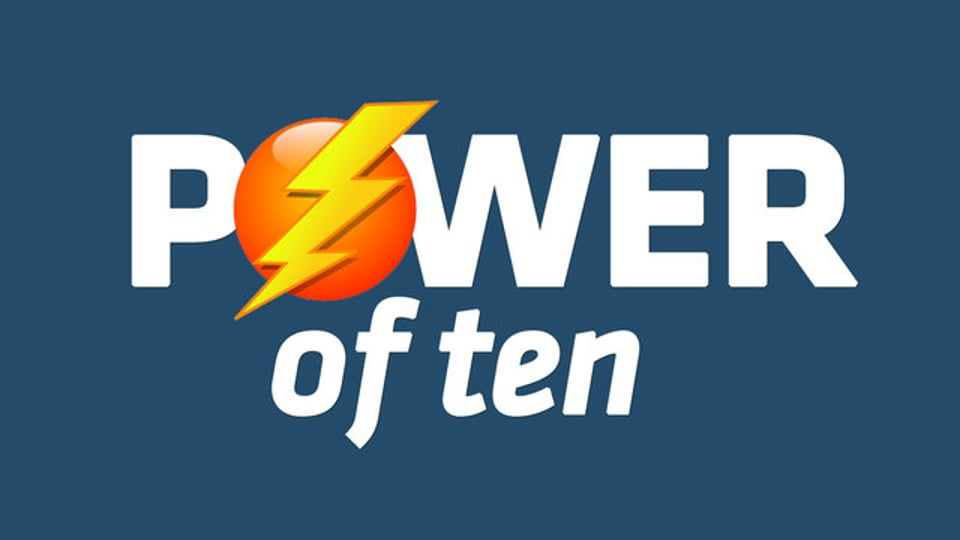 POWER OF TEN - The Weekly Graph