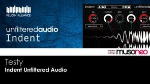 Indent Unfiltered Audio