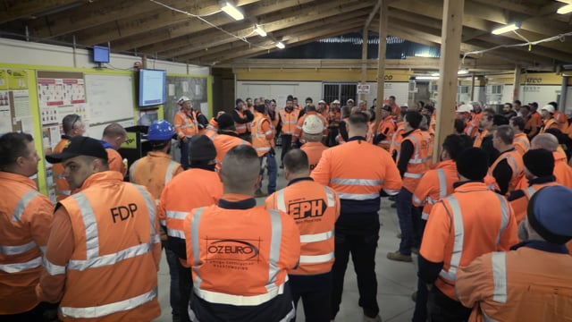Govt Rail - LCRP Bayswater - Major Occupation
