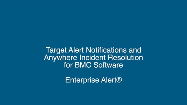 Advanced IT Service Alerting for BMC Software