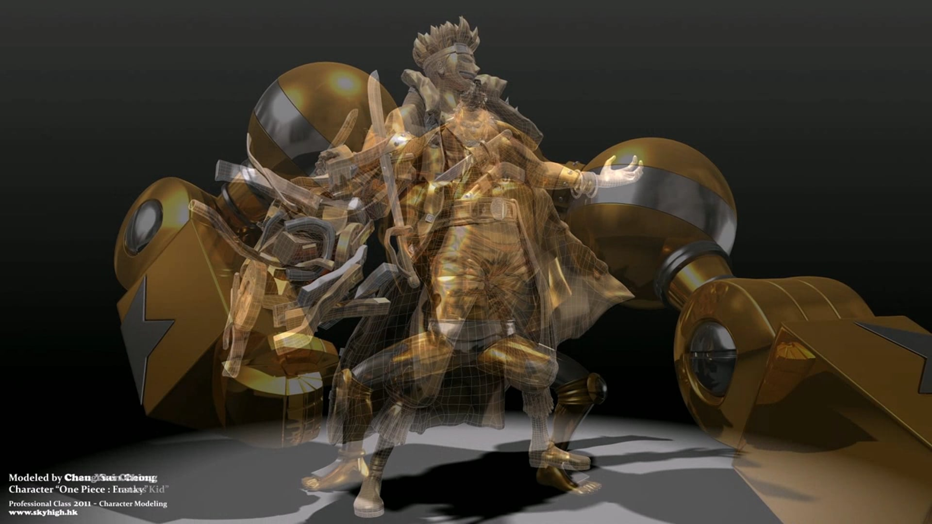 APAS - Professional in 3D Modeling