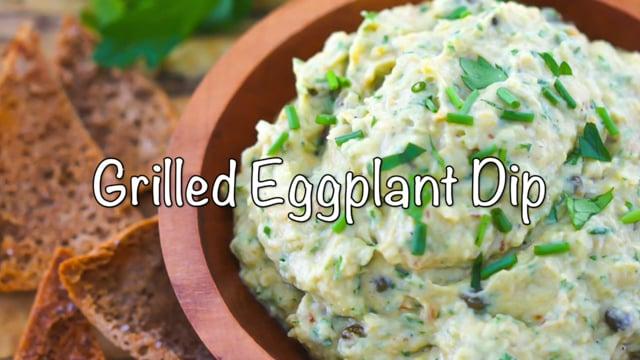 Grilled Eggplant Dip