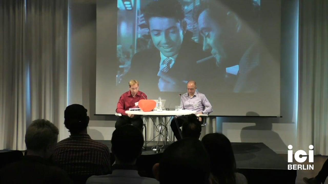 Talk by Lee Edelmann and Joseph Litvak