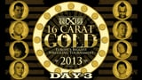 wXw 16 Carat Gold 2013 - Night 3