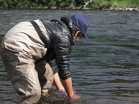 Young kid catches 18lb River Tay Salmon