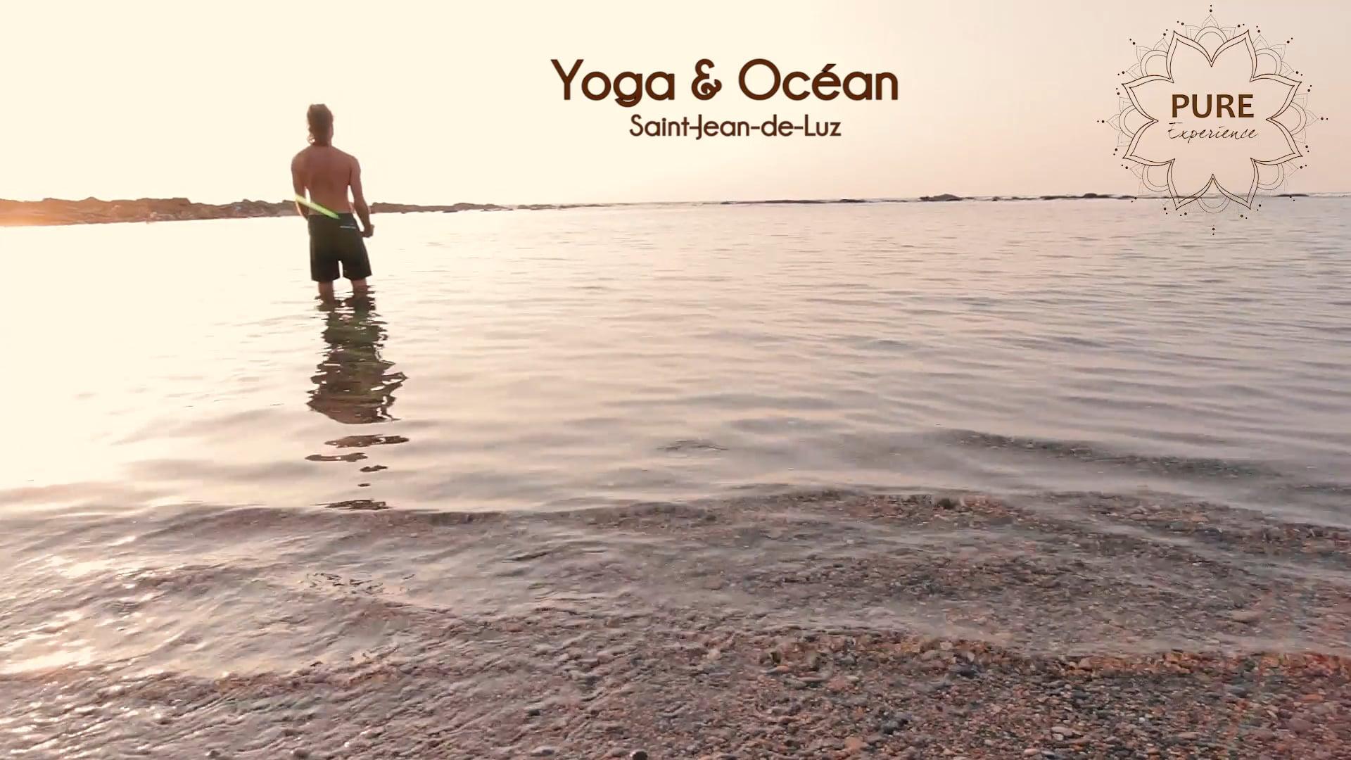 """""""Pure experience"""" - Yoga et Océan"""