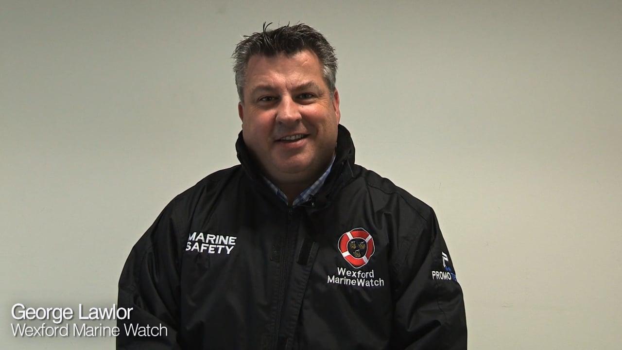 iWonder George Lawlor, Vice President of Wexford Marine Watch