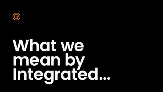 Generator Talent Group - What we mean by Integrated