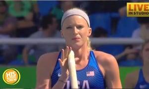 Olympian Sandi Morris' Mom Chats From Rio