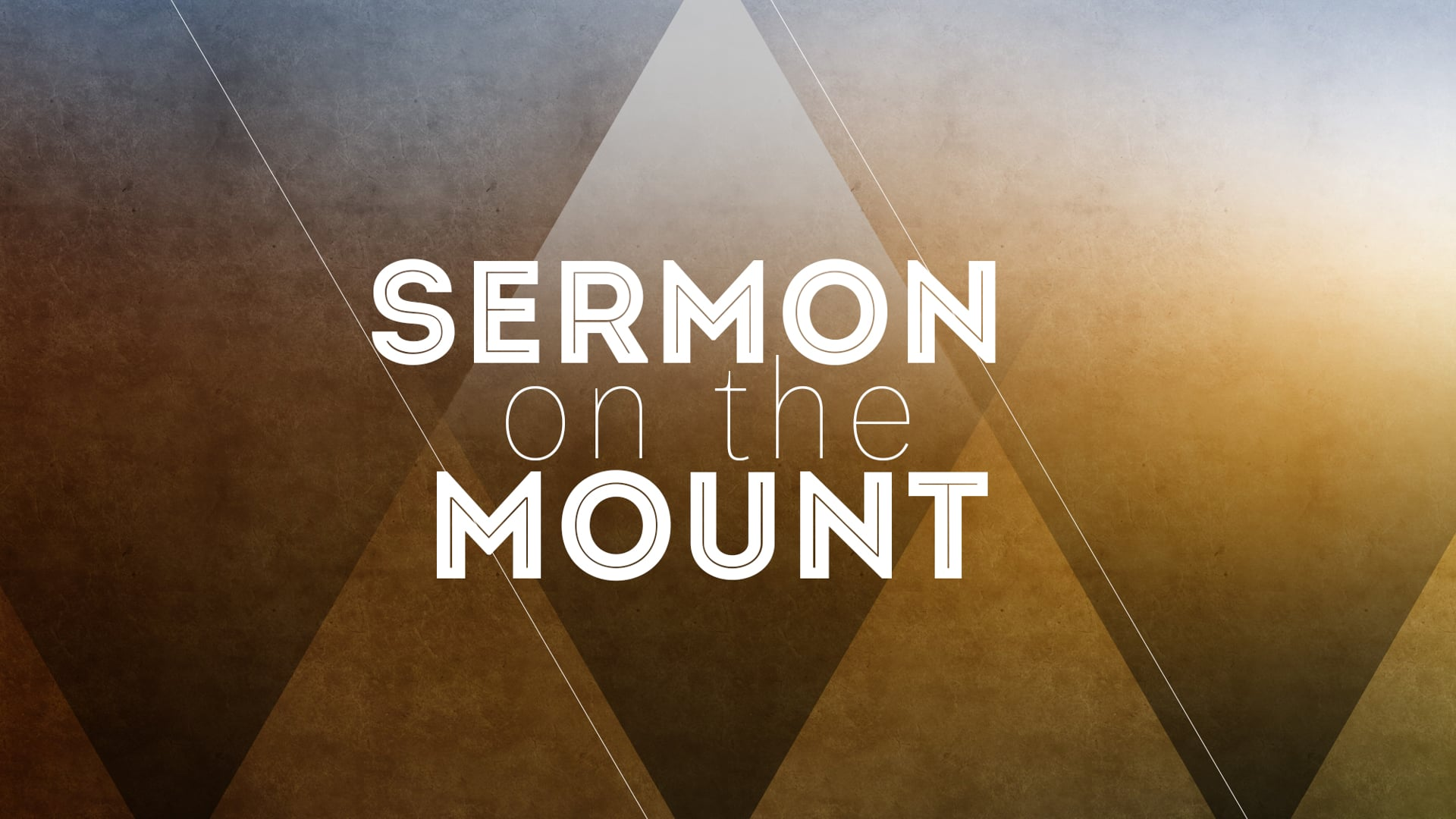 Downside Up // The Sermon on the Mount: Week 1