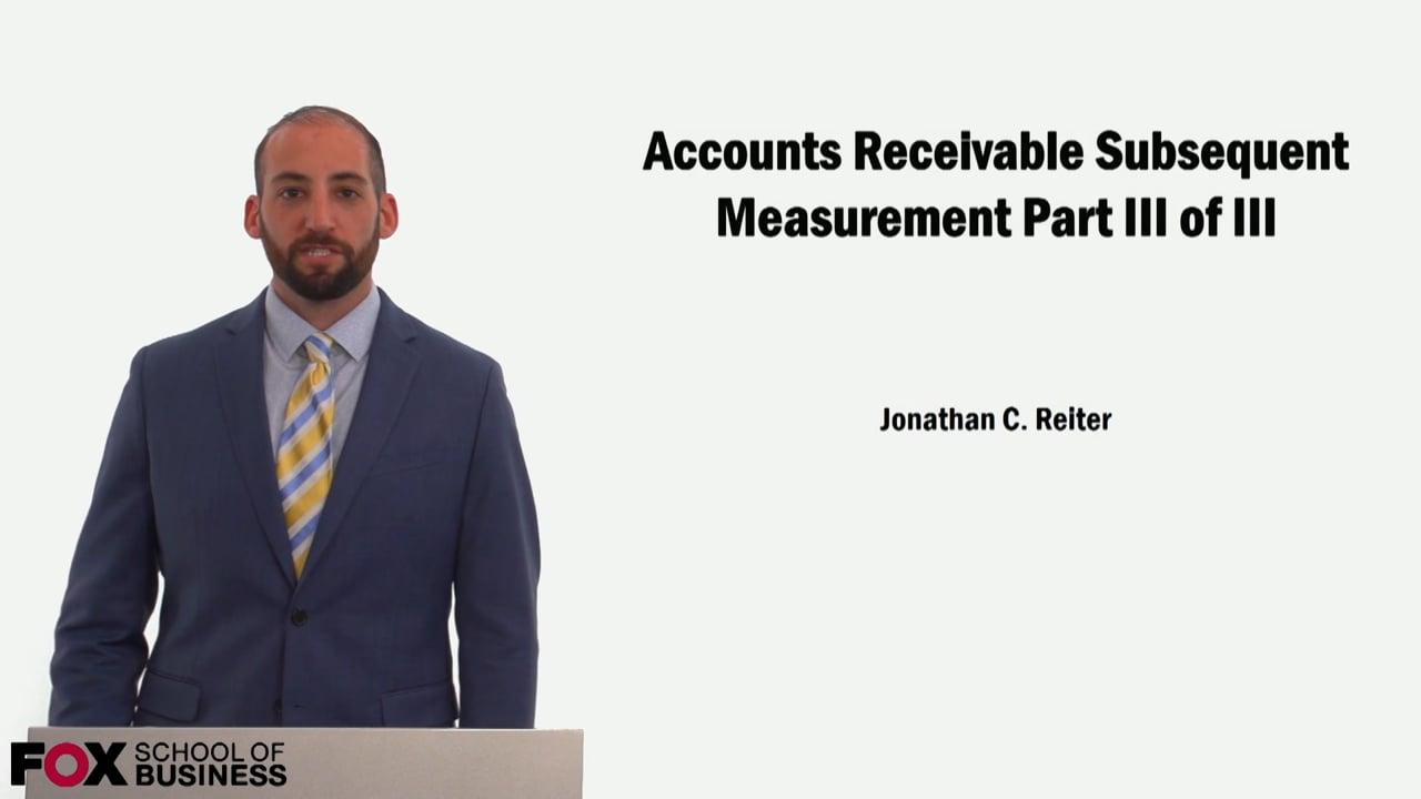 59118Accounts Receivable Subsequent Measurement Part 3