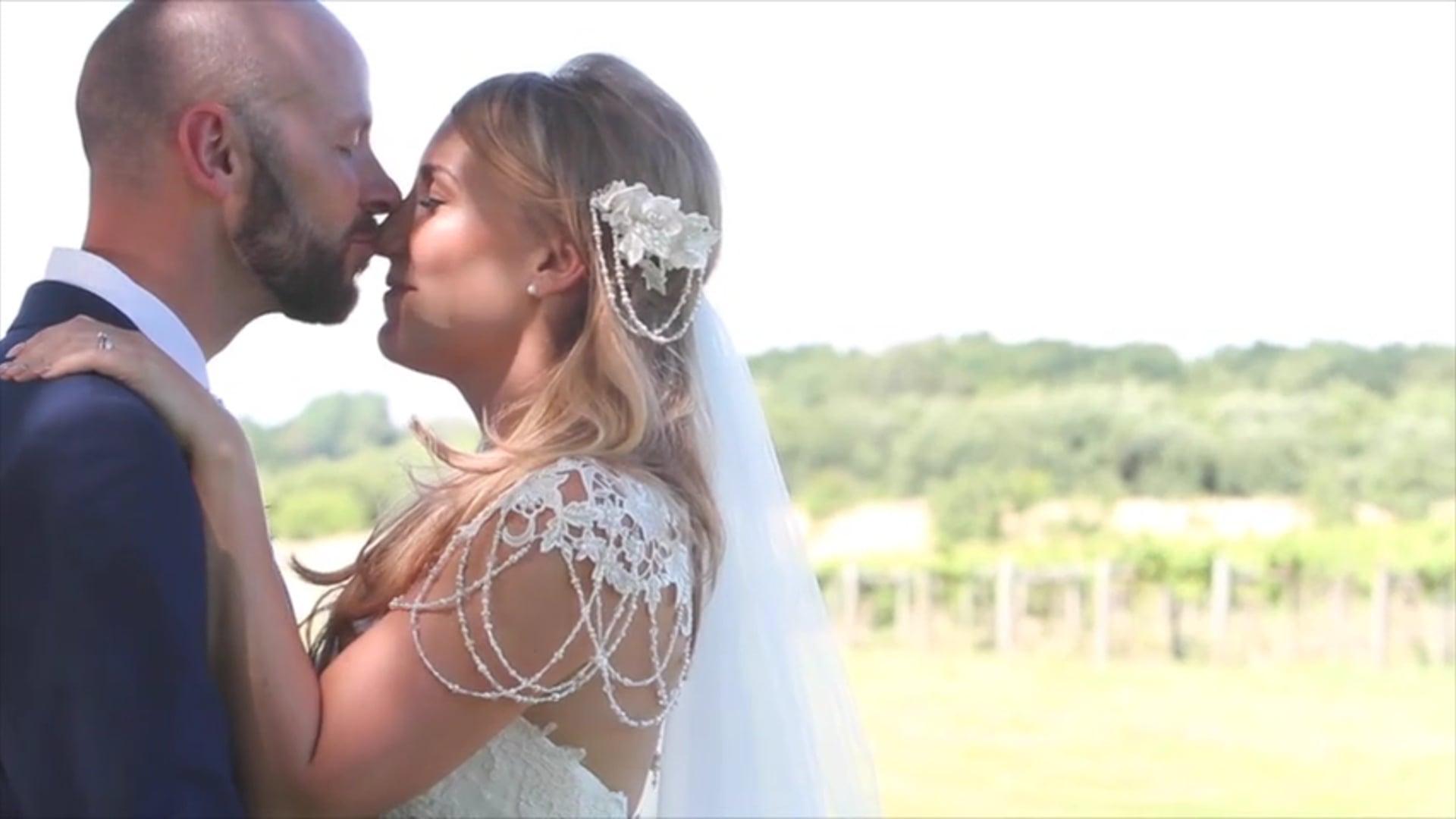 Ami and Ryan's Wedding Day Movie, Three Choirs Vineyard,  23rd July 2016