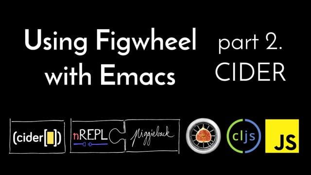 15. Using Figwheel With Emacs, part 2: CIDER