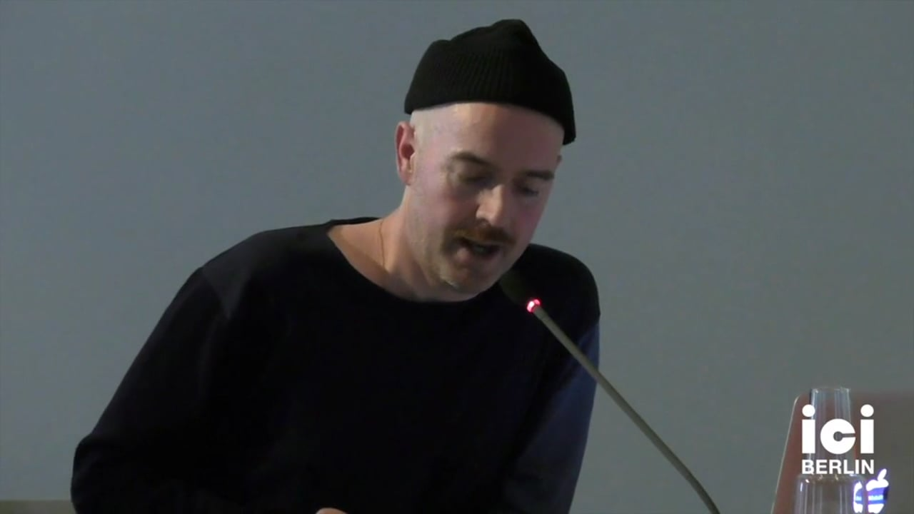 Talk by Michael Cobb