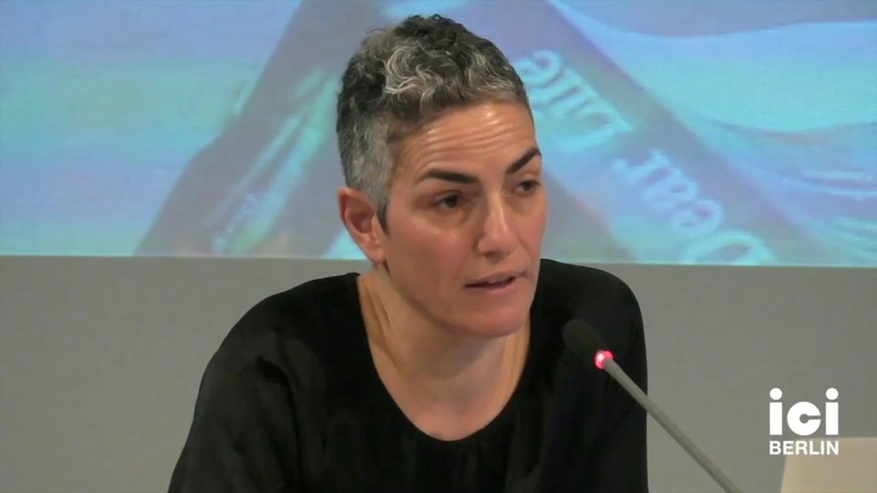 Talk by Annamarie Jagose