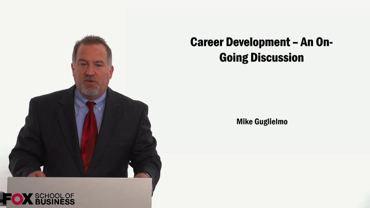 59145Career Development – An Ongoing Discussion