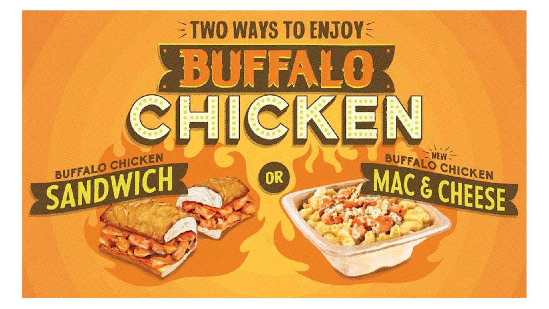 Potbelly Sandwich Works   Buffalo Chicken Mac n' Cheese