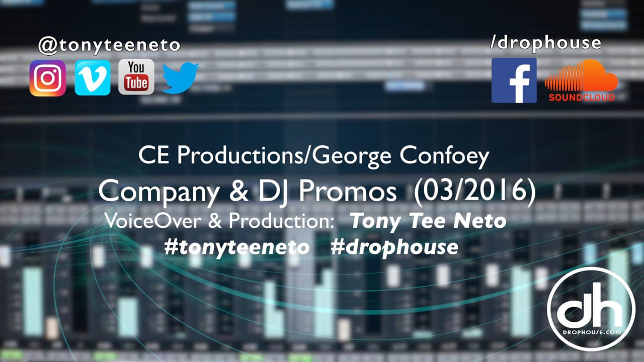 DropHouse- Imaging Samples George Confoey CE Productions (03-16) #tonyteeneto #drophouse