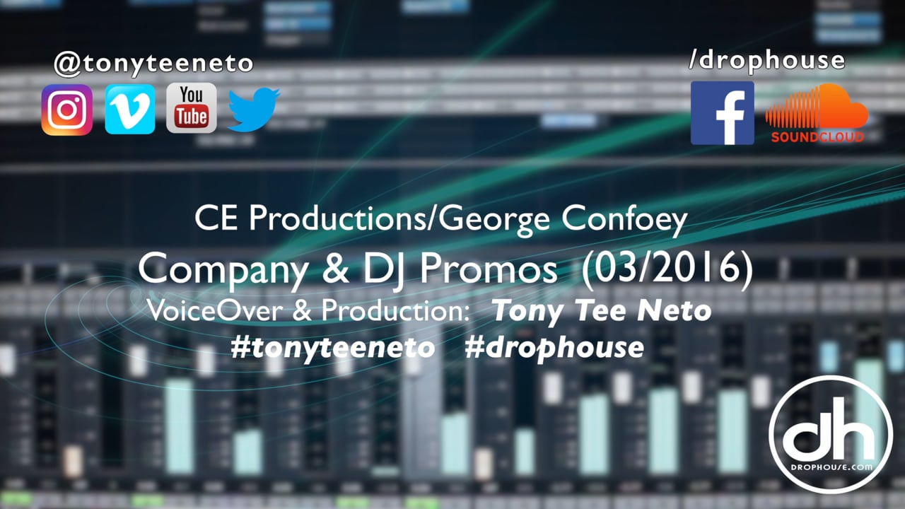 DropHouse- Imaging Samples Bunn Dj Company Joe Bunn 2016 #tonyteeneto #drophouse