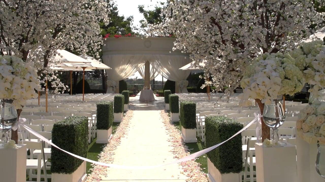 Monarch Beach Resort Wedding Trailer for Instagram