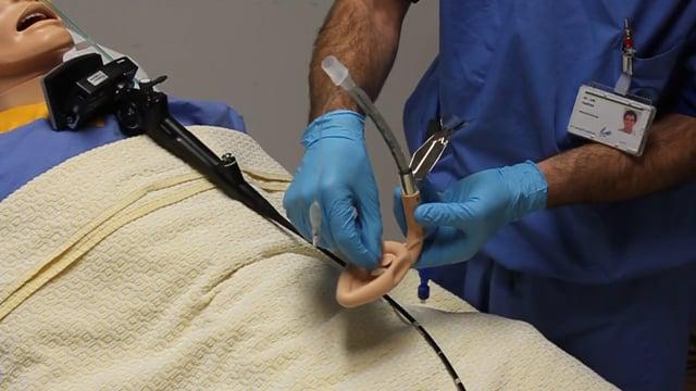 Intubating Laryngeal  Mask Airway for airway rescue manikin