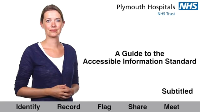 3120R.SUB.PLY A Guide to the Accessible Information Standard for staff
