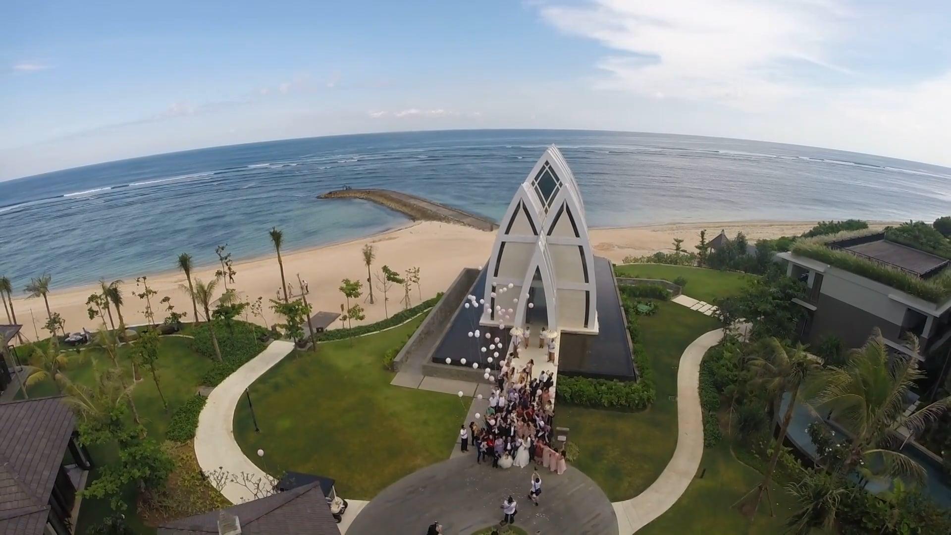 Cici & Choi Ki Bali wedding
