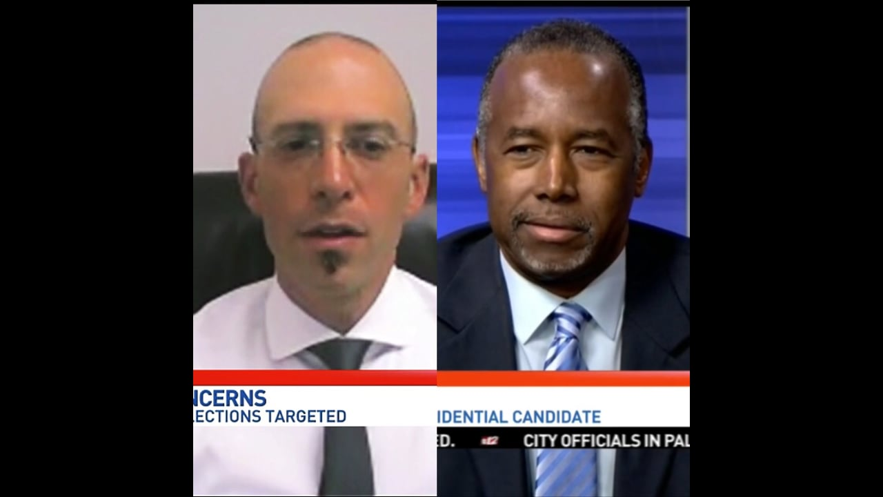 """MonsterCloud's CEO, Zohar Pinhasi Invited by """"CBS"""" to talk about the threats of hacking in the 2016 presidential election."""