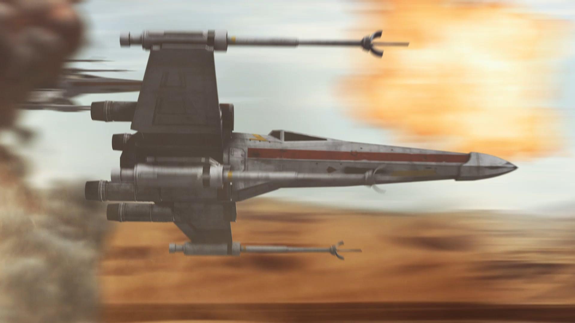 X-Wing Battle Effect
