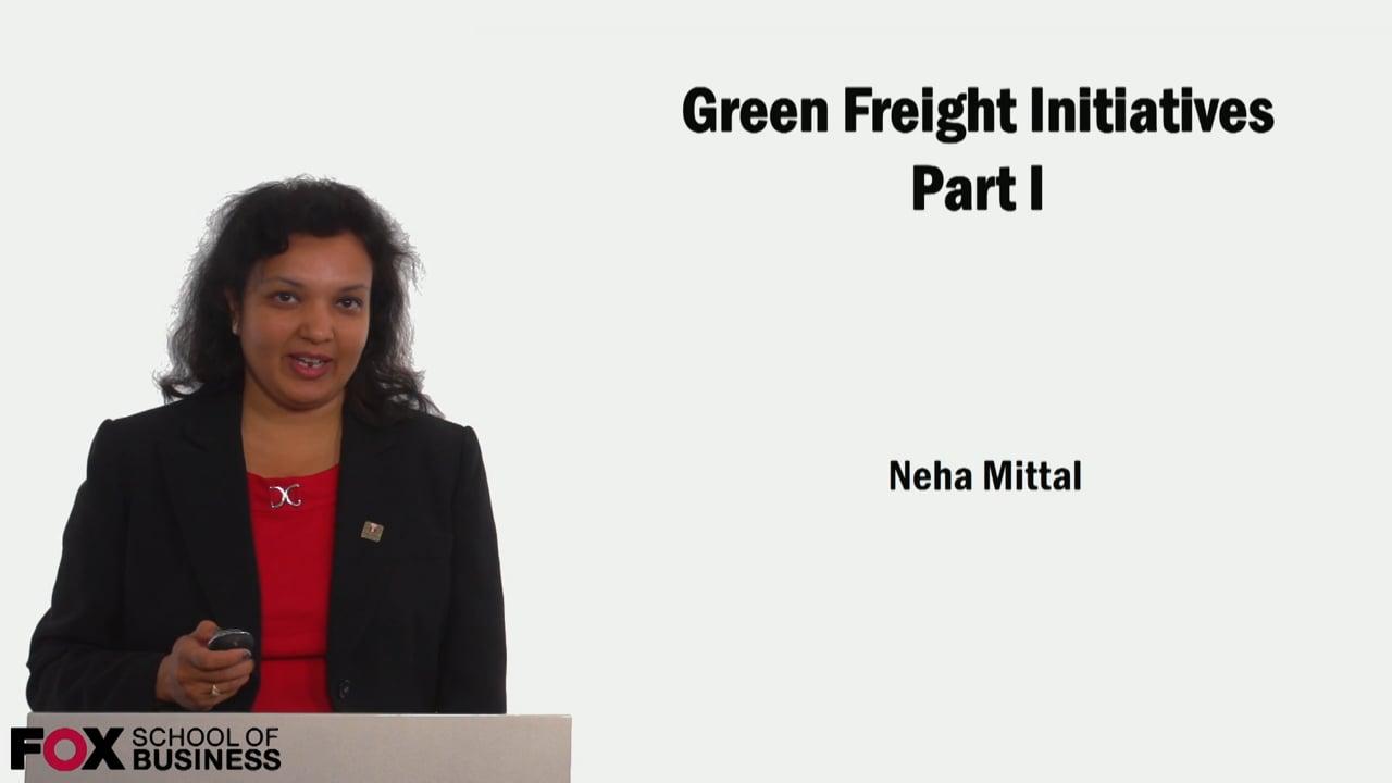 59157Green Freight Initiatives Part 1