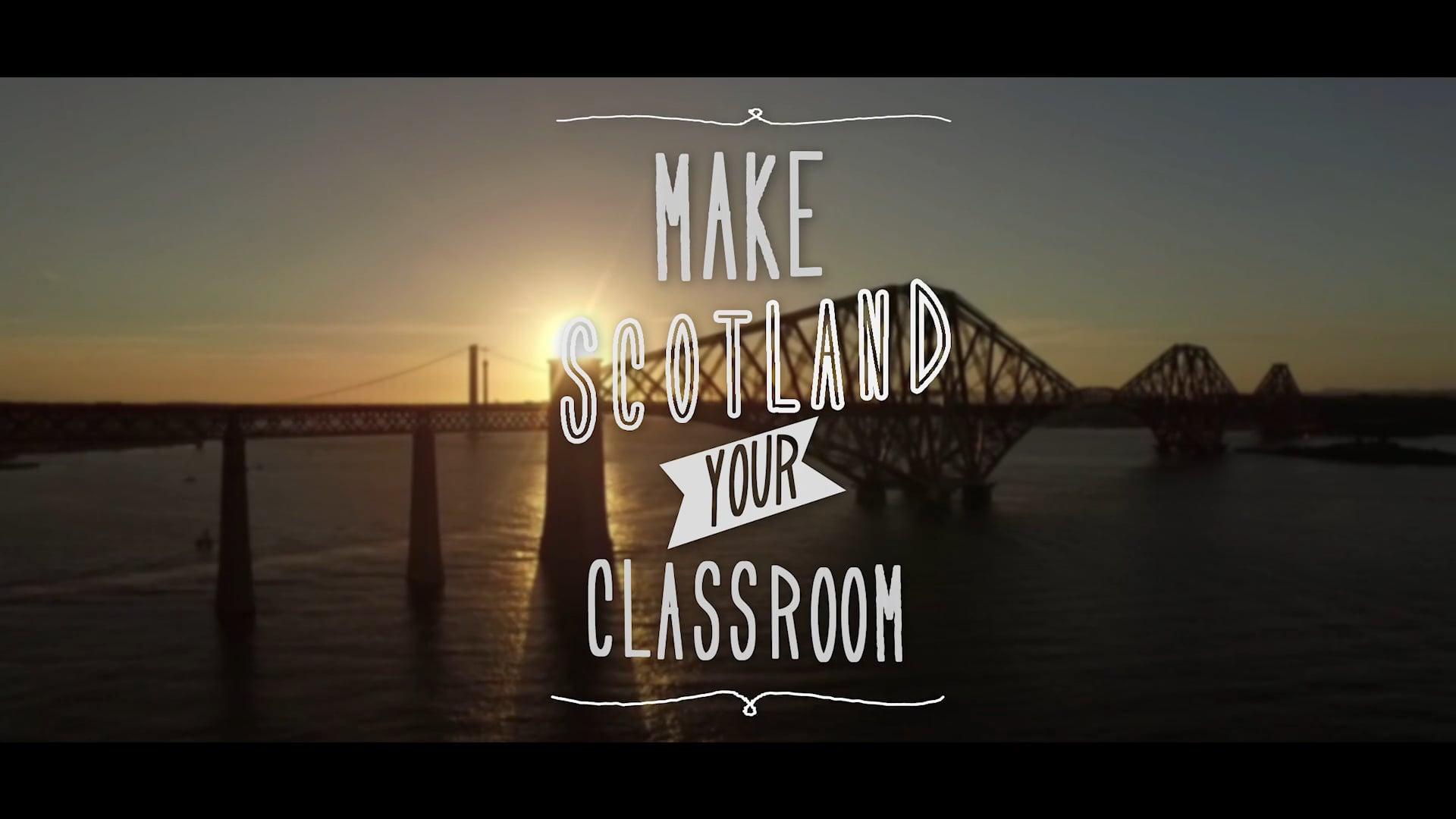 EUKS: MAKE SCOTLAND YOUR CLASSROOM
