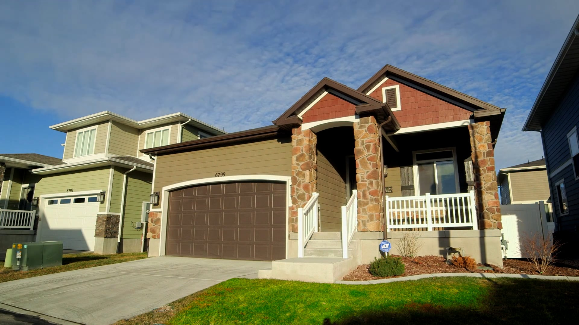 Middle 3 Bedroom home with an amazing exercise room.