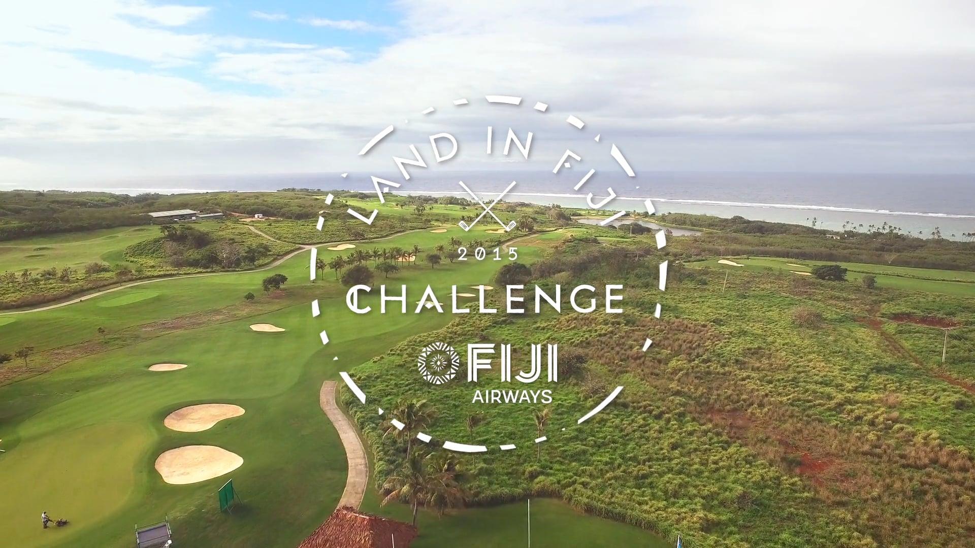 Fiji Airways - Land in Fiji Challenge