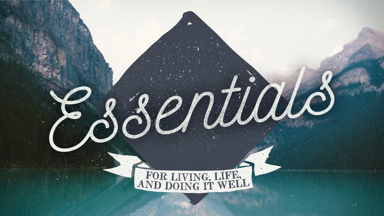 Essentials Week 1