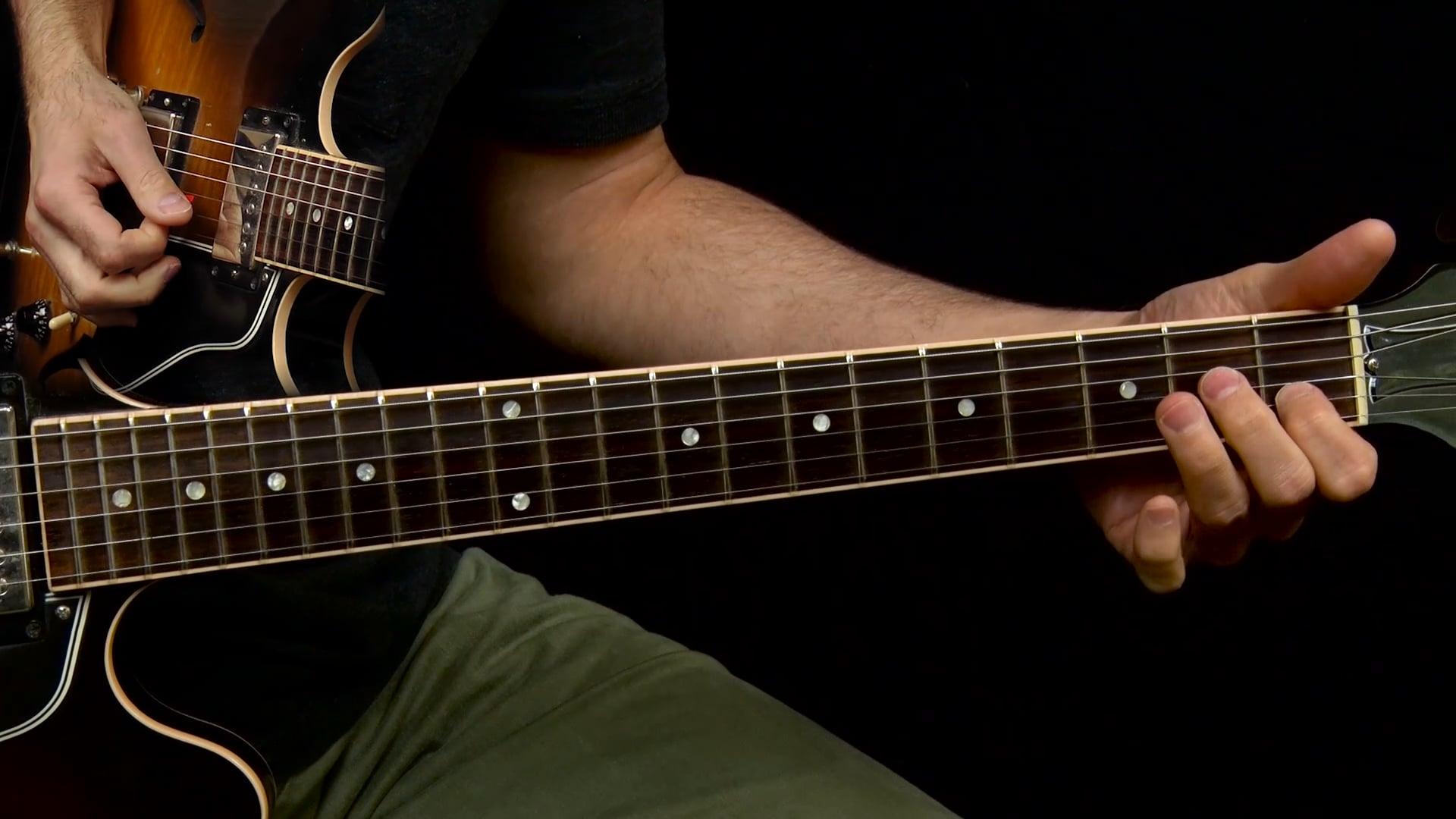 E Blues Solo The Solo