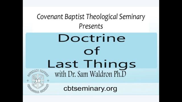 ST27 08 | Doctrine of Last Things