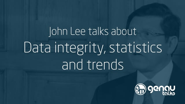 John Lee talks about data integrity, statistics and trends.