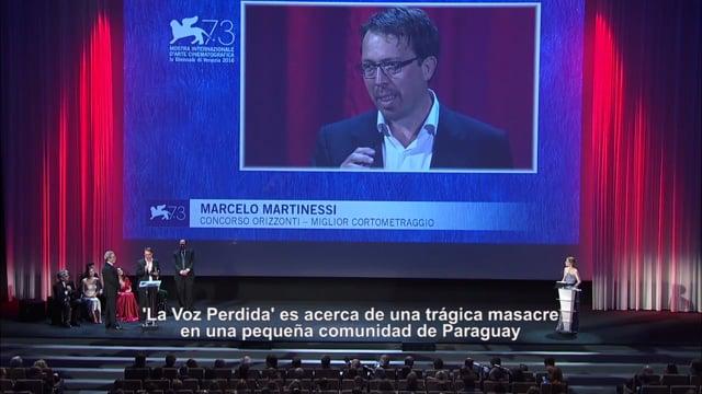 Venezia Awards Ceremony - English/Español