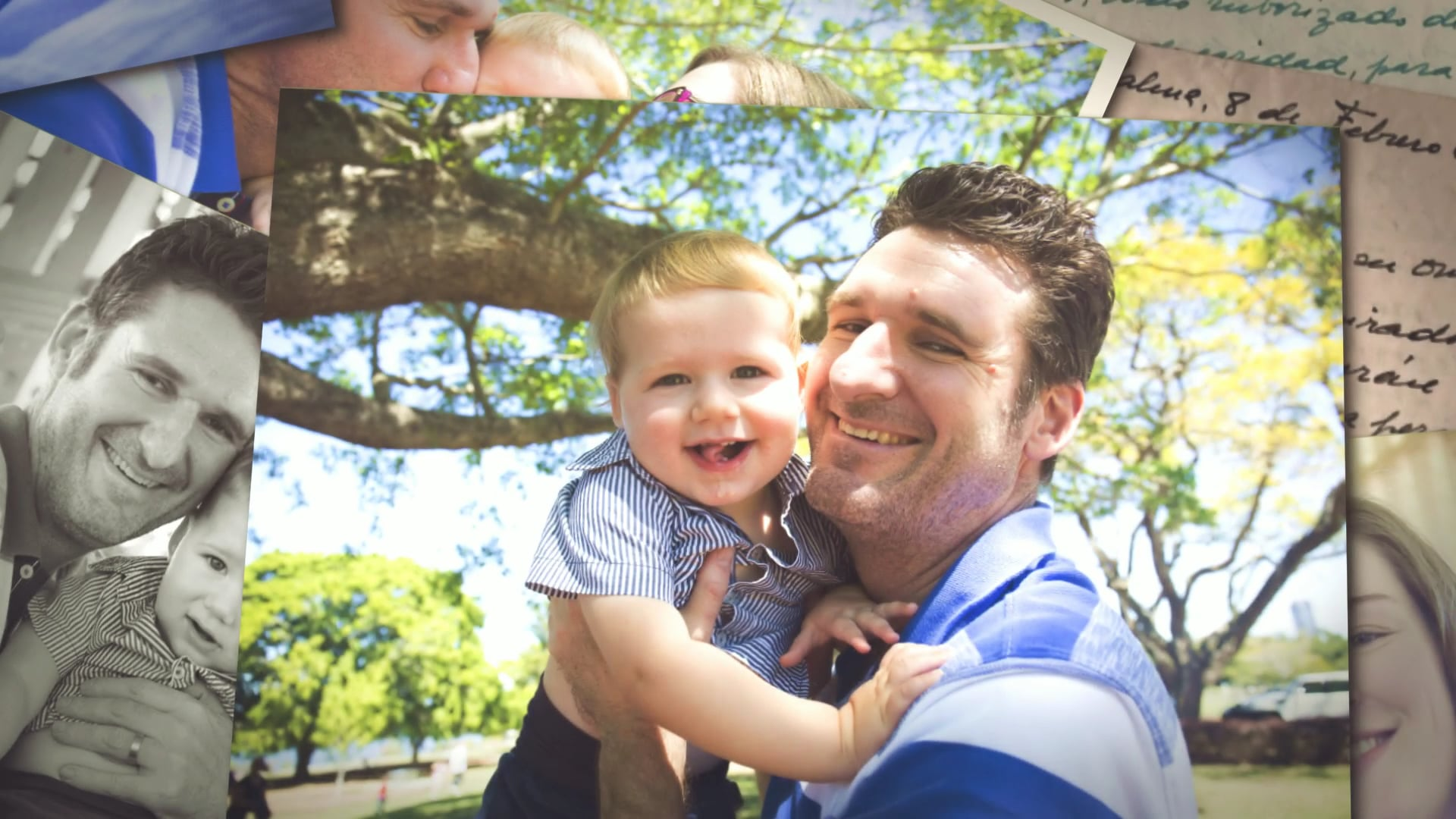 Heike & Adrian Father's Day Photoslide