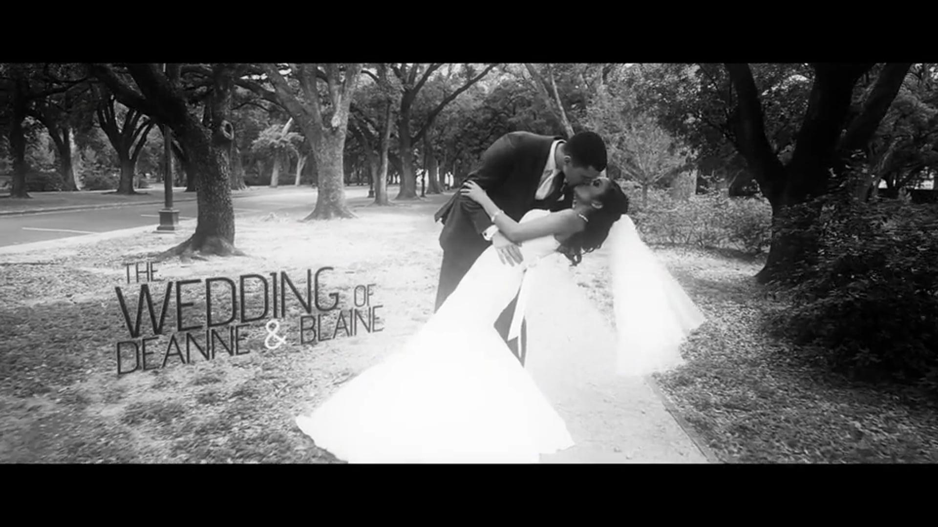 Deanne & Blaine Wedding Highlights.