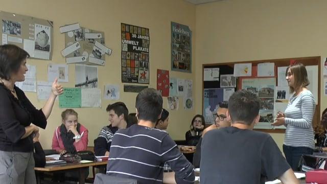 Différenciation en cours d'allemand (lycée GT)