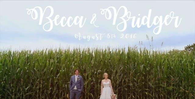 Becca & Bridger