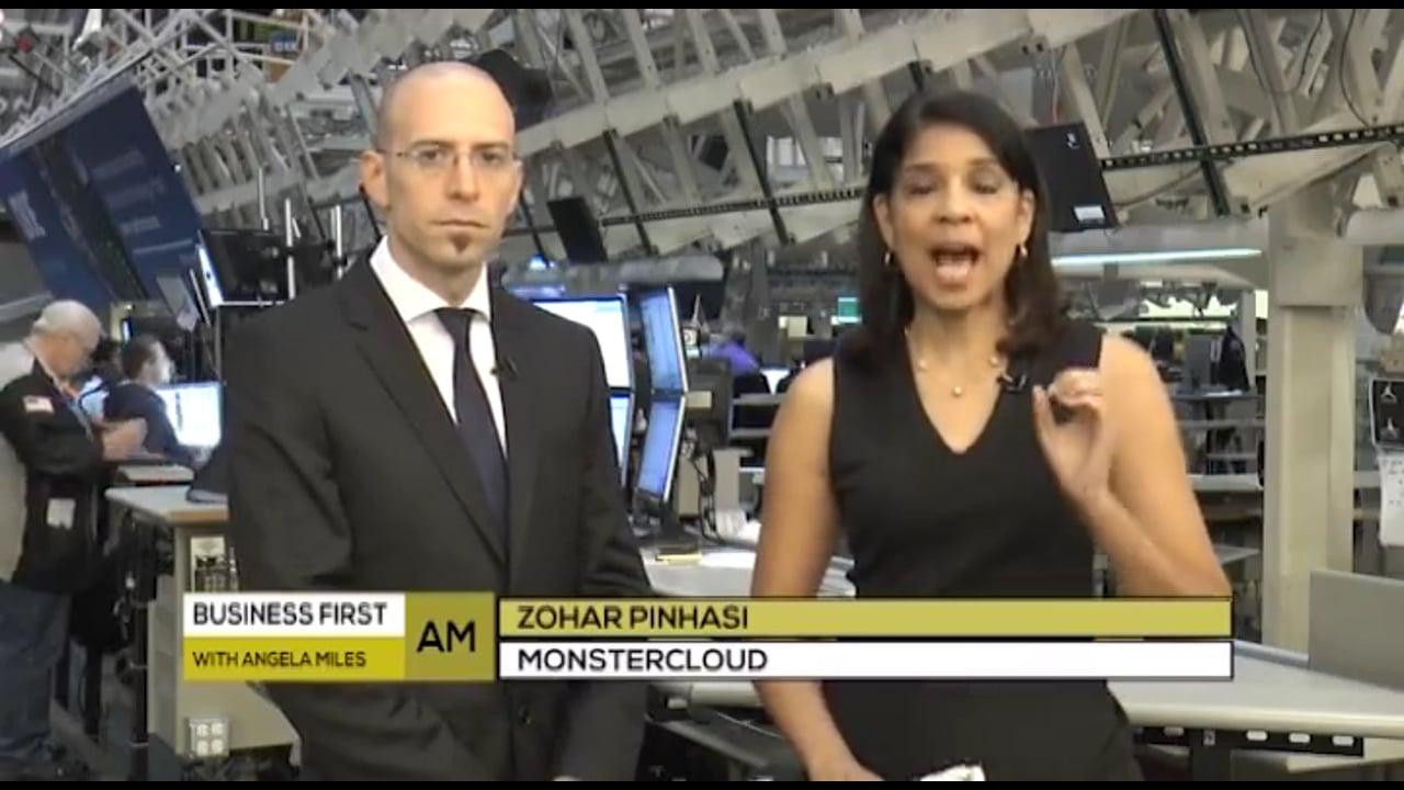 Zohar Pinhasi talks about Ransomware - Business First AM
